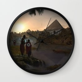 12.000 years ago Wall Clock