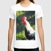 rooster T-shirts featuring Rooster by KimberosePhotography
