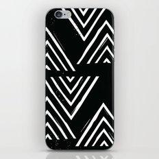 The Mountain Top - in Black iPhone & iPod Skin