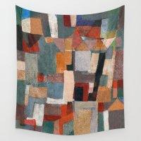 """rio Wall Tapestries featuring Rio Doce """"Bento e Paracatu"""" by Fernando Vieira"""
