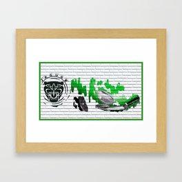 Jaguar E-type Framed Art Print