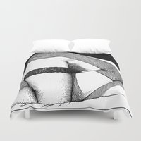 apollonia Duvet Covers featuring asc 557 - L'envers (The flip side) by From Apollonia with Love