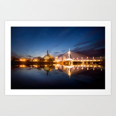 Winnipeg, MB, Canada Art Print