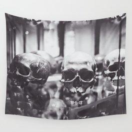 Trio of Skulls Wall Tapestry