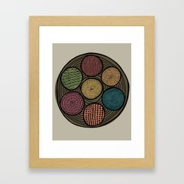 Spice Tin Framed Art Print