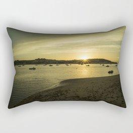 Torridge estuary sunset  Rectangular Pillow