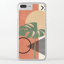 Nature Geometry I Clear iPhone Case