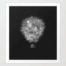 Supernova Sky Ride Art Print