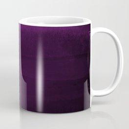 Moody Purple Plum Watercolor Coffee Mug