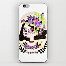 Day of the Beautiful Dead  iPhone & iPod Skin