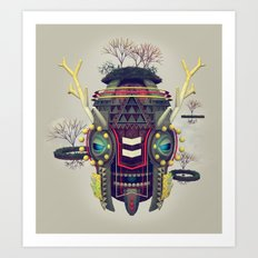 Earth Deity Art Print