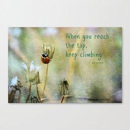 Zen Proverb Canvas Print