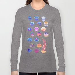 Jellyfish Day - pastel Long Sleeve T-shirt
