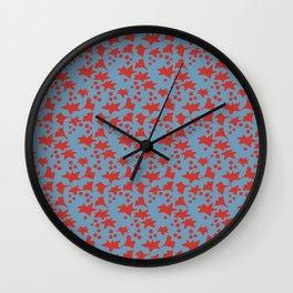 Japanese Pattern 12 Wall Clock