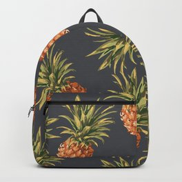 Pineapples Pattern Backpack
