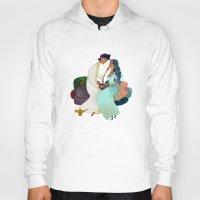 aladdin Hoodies featuring Aladdin Wedding by Kathryn Hudson Illustrations