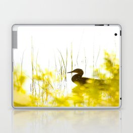 Bird by the lake #decor #society6 #buyart Laptop & iPad Skin