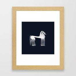 Athenian Horses Framed Art Print