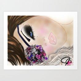 GCD Beautilicious Buccaneer Airbrushed Illustration Art Print