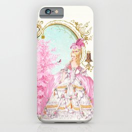 Marie Antoinette Christmas iPhone Case