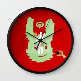I have been thinking about you Wall Clock