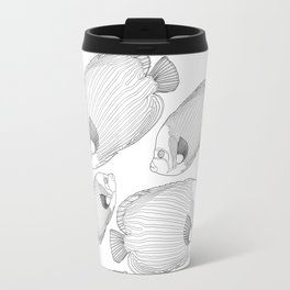 Emperor Fish Patterns Travel Mug