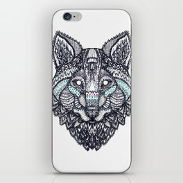 Psychedelic Wolf iPhone Skin