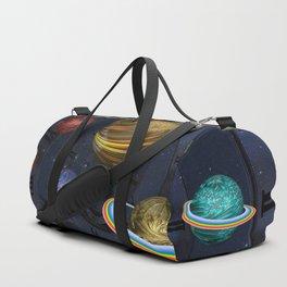 Planetary Time Spiral Duffle Bag