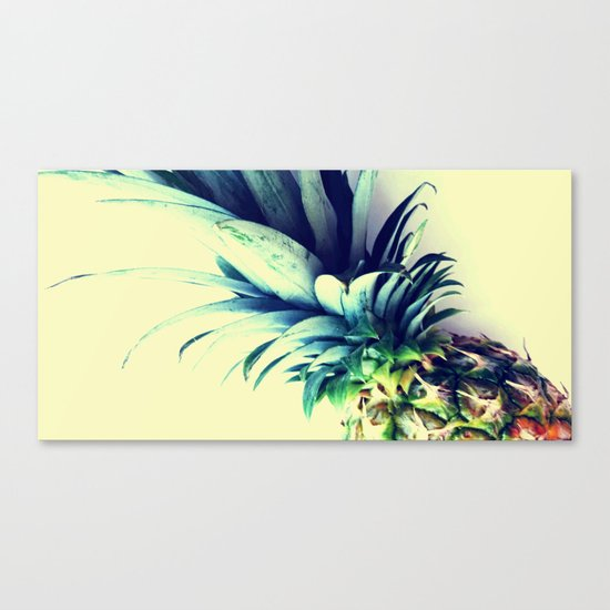Tall pineapple Canvas Print