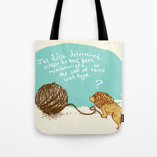 Unethical Mind Experiments on Miniaturized Animals Tote Bag