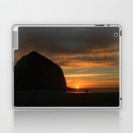 Haystack At Sunset Laptop & iPad Skin