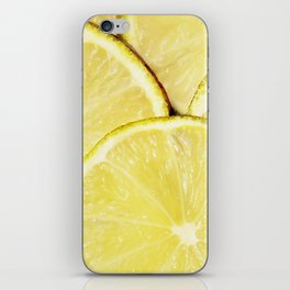 Lime Slices iPhone Skin