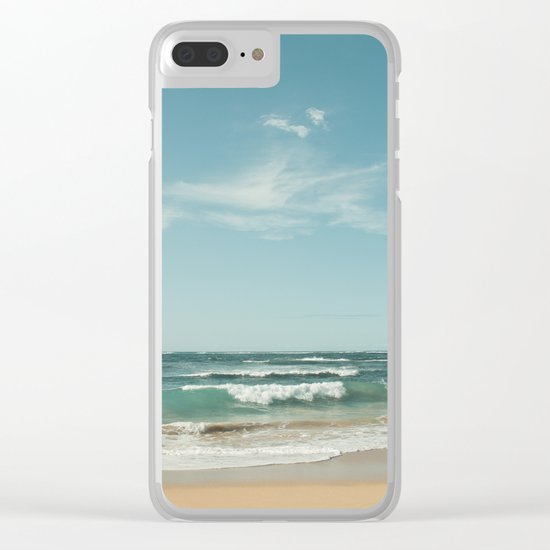 The Ocean of Joy Clear iPhone Case