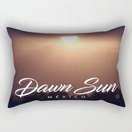Dawn Sun Rectangular Pillow