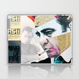 Johnny Cash - The Man In Black Laptop & iPad Skin