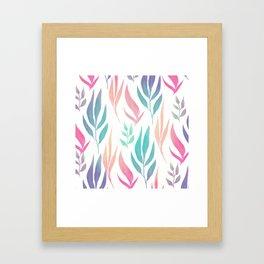 Pattern flower Framed Art Print