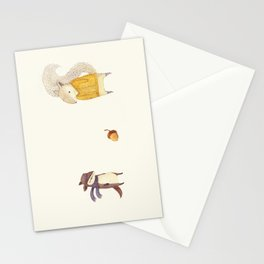 The Last Acorn of Autumn Stationery Cards