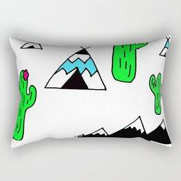TeePee Party Rectangular Pillow