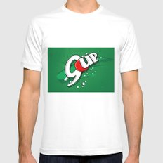 9up Mens Fitted Tee White MEDIUM