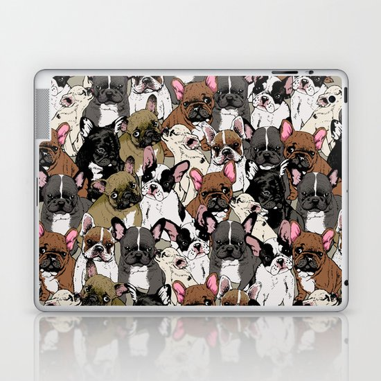 Social Frenchies Laptop & iPad Skin