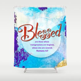 Blessed! Shower Curtain