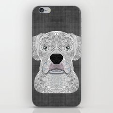 White Boxer iPhone & iPod Skin