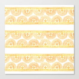 Gold Lace Canvas Print