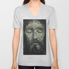 Holy Face of Our Lord Jesus Christ Unisex V-Neck