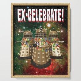 Holiday Daleks Serving Tray