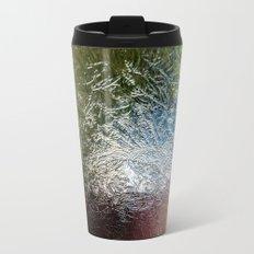 Glass Abstract Travel Mug