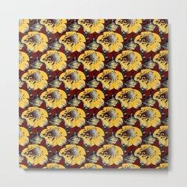 Fake Field of Flowers Metal Print