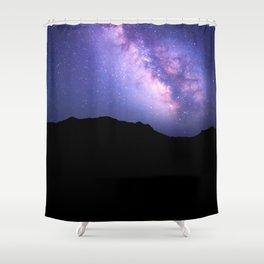 Midnight Hesitation Shower Curtain