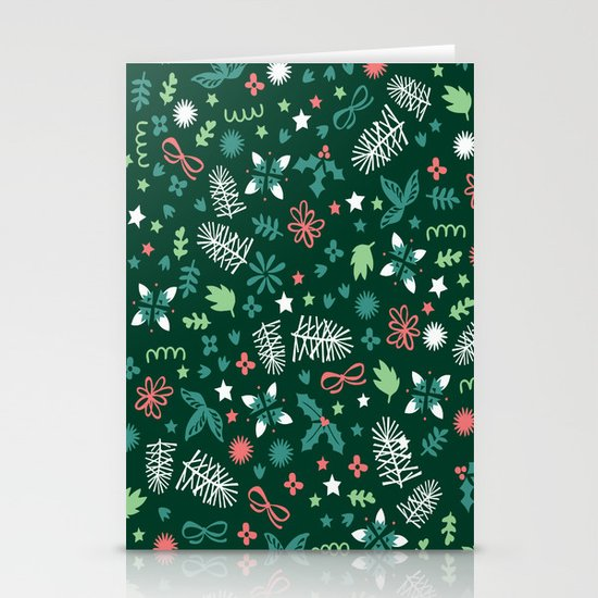 Have a Holly Jolly Christmas  Stationery Cards