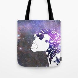 Super Cool Space Monkey Tote Bag